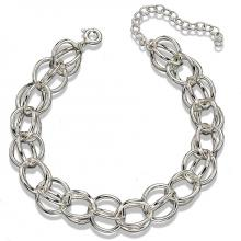 seB4839 (Sterling Silver Double Chain Bracelet)
